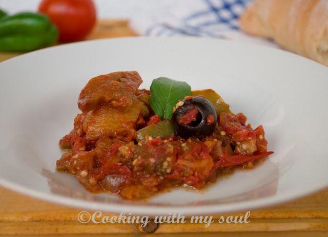 Caponata - Conserva de vinete / Canning eggplant