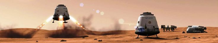SpaceX's Mars Colonial Transporter: Rumors and Realities ~ For more than a decade, SpaceX CEO and Founder Elon Musk has been hinting at the eventual development of a super-heavy-lift launch vehicle and accompanying spacecraft that can economically transport 100 metric tons (220,462 lbs) of cargo or 100 people to the surface of Mars.   The purpose of this 'Mars Colonial Transporter' (MCT) would be to establish a large city on Mars that could eventually become a self-sufficient ...