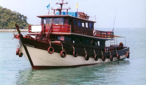 17 best images about boats and seacraft on pinterest for Deep sea fishing boats for sale