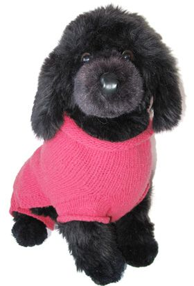 This stuffed animal looks exactly like Violet Jane, my puppy.  She may have posed for it when we weren't looking!