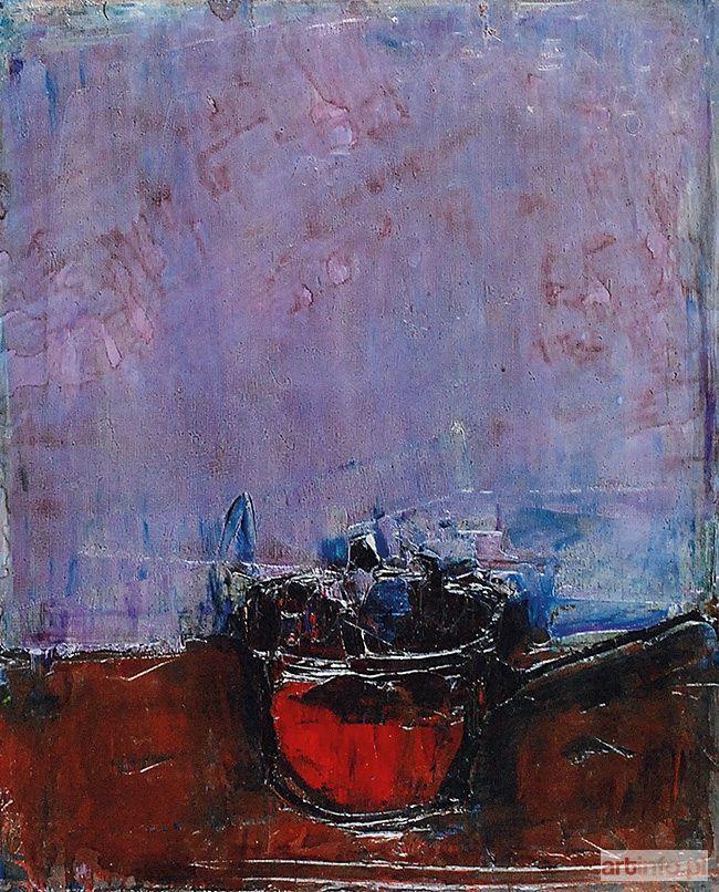 Jacek SIENICKI ● Czerwony rondelek, 1996 ●