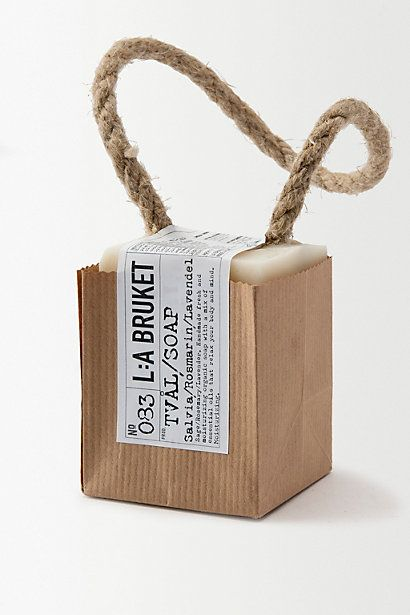 L:a Bruket Soap-on-a-Rope #anthropologie