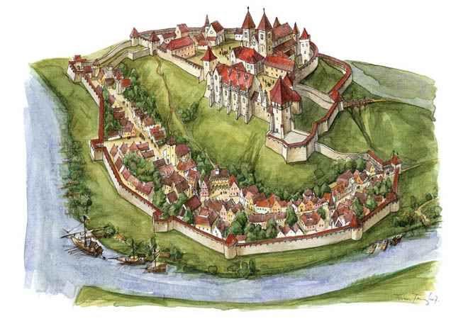 Esztergom, királyi vár