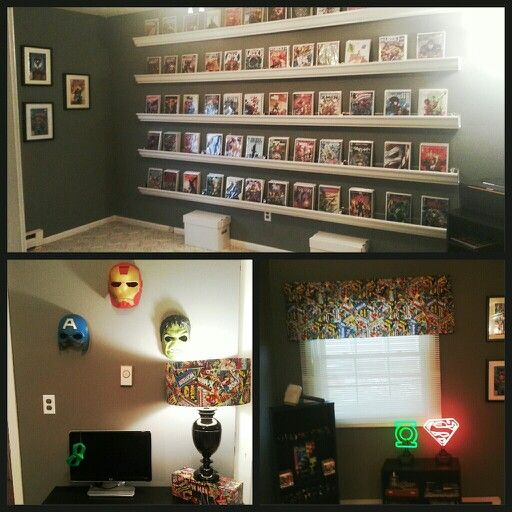 46 Best Comic Book Room Ideas Images On Pinterest Rooms