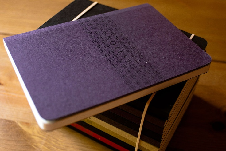 Notes, pack of 2 pocket sized notebook. by Noto