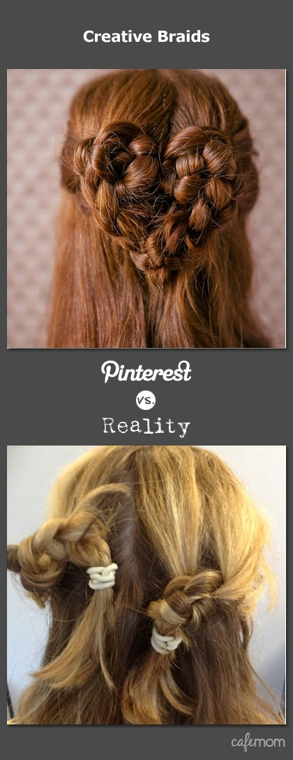 So, so true! For more hilarity, and a chance to win a 500 dollar Lowe's gift card and make your Pinterest dreams a reality. Enter here: http://www.cafemom.com/about/pinterestvsreality.php