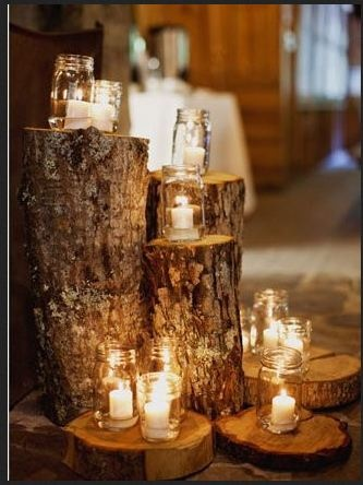 beautiful for weddings...www.thelogbasket.co.uk may be able to help you...
