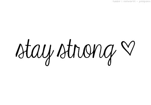 stay strong tattoo on wrist - Google Search