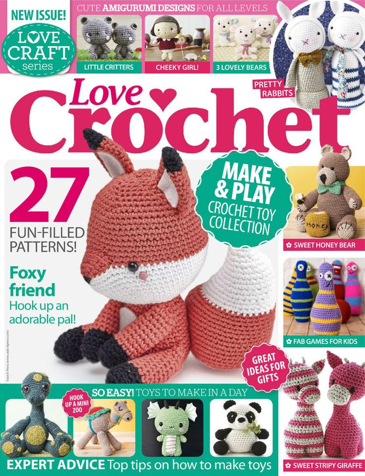 Amigurumi Crochet Magazine : 1000+ ideas about Crochet Magazine on Pinterest Album ...