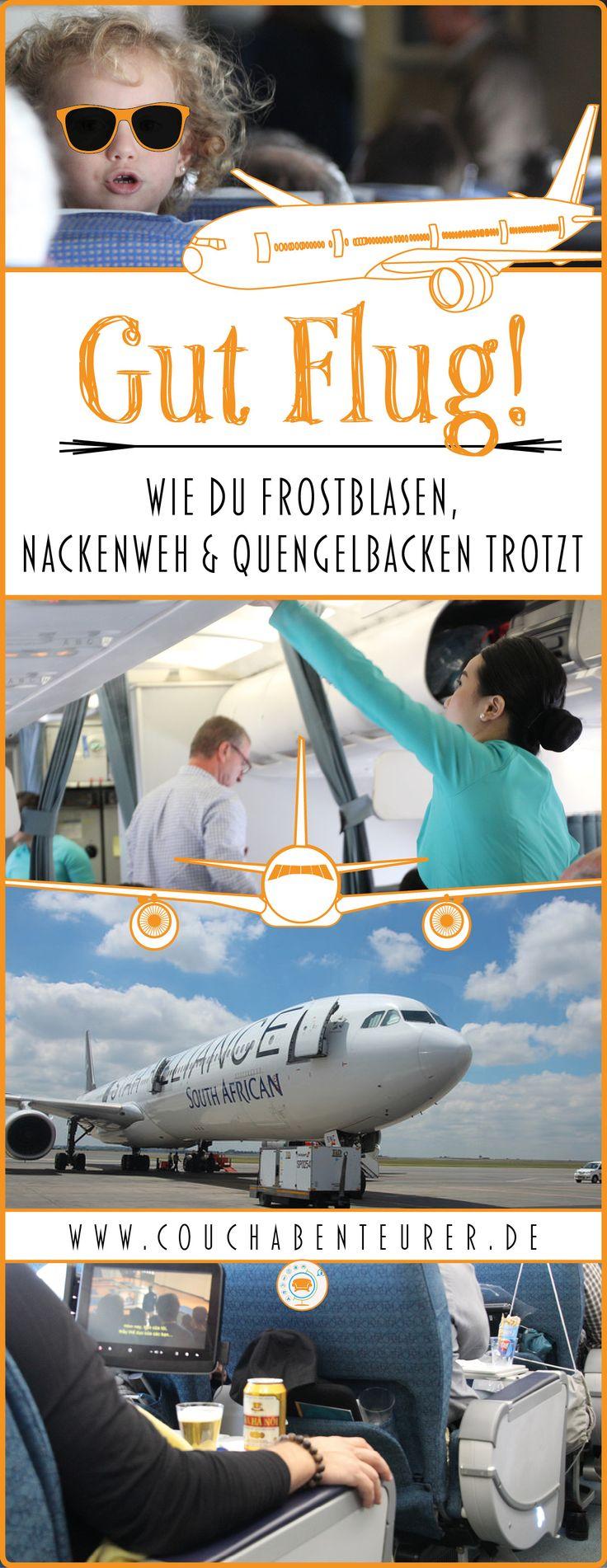 Ich zeige dir meine Strategien für einen angenehmen Flug und helfe dir damit, auch auf Langstrecke angenehm zu reisen!