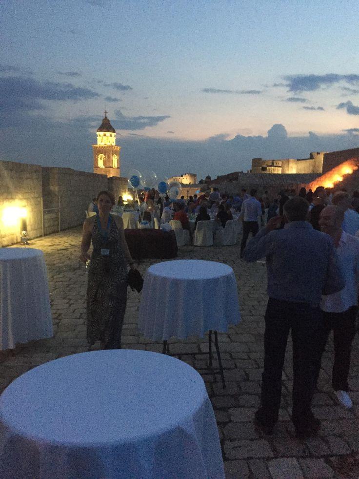 Excalibur Furniture evening of networking at #HIDesign #Dubrovnik