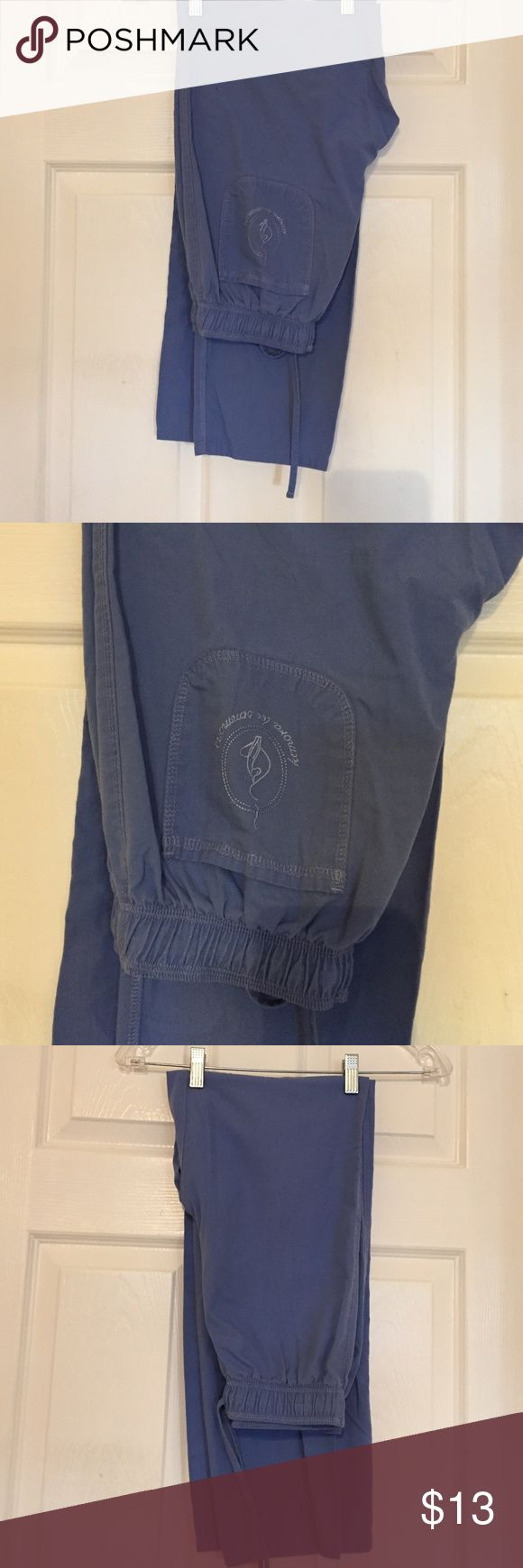 Baby Phat scrub pants Great condition, 1 small mark see pic 4. Elastic & draw string at waist. Baby Phat Pants