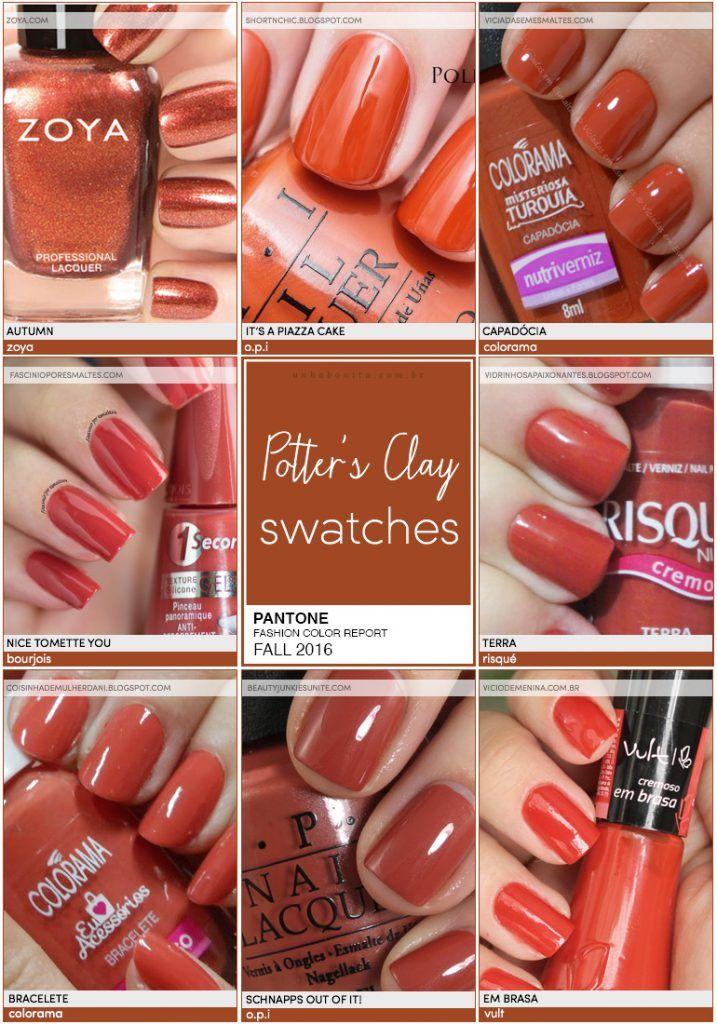 Pantone Fashion Color Report FALL 2016   9/10   Potter's Clay - Unha Bonita