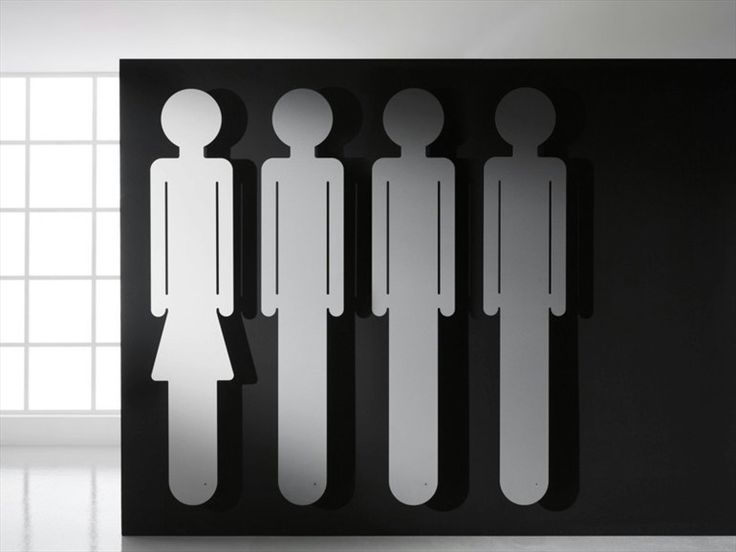 Wall-mounted steel decorative radiator ORESTE & EMMA - ANTRAX IT