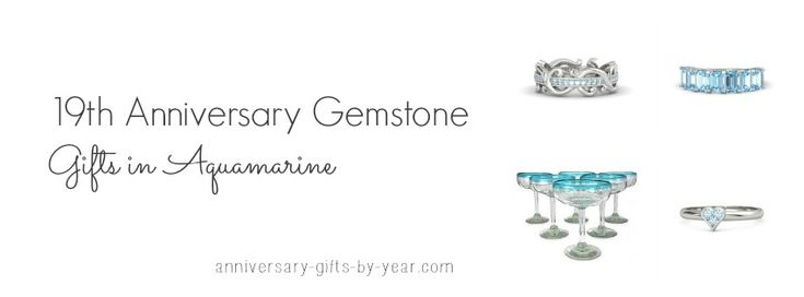 19th anniversary gift ideas from the gemstone list