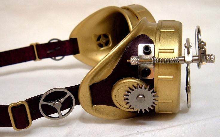 Handmade Steampunk Goggles Victorian Glasses by PasqualiStudios, $50.00