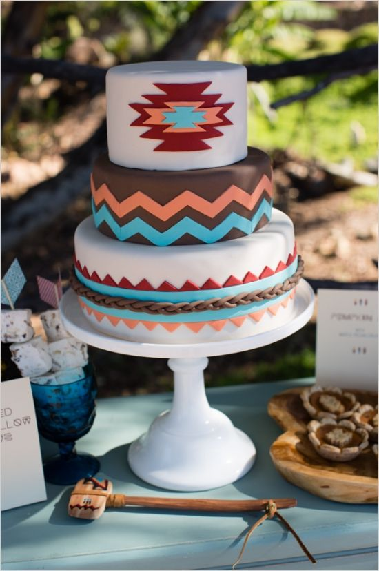 Can't get enough of this! Love unique wedding details. http://www.weddingchicks.com/2013/11/22/native-american-wedding-ideas/
