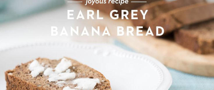 As I was flipping through Jamie Oliver's new cookbook Everyday Superfoods, which Walker gave me for Christmas last year, I came across a recipe for Earl Gre
