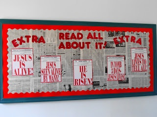 Eastunders Creations: Spring Church Bulletin Boards