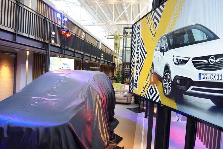 Hotel De Hallen - Opel launch new car