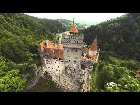 Bran Castle, Romania - aerial view / Castelul Bran, Romania - vedere aer...