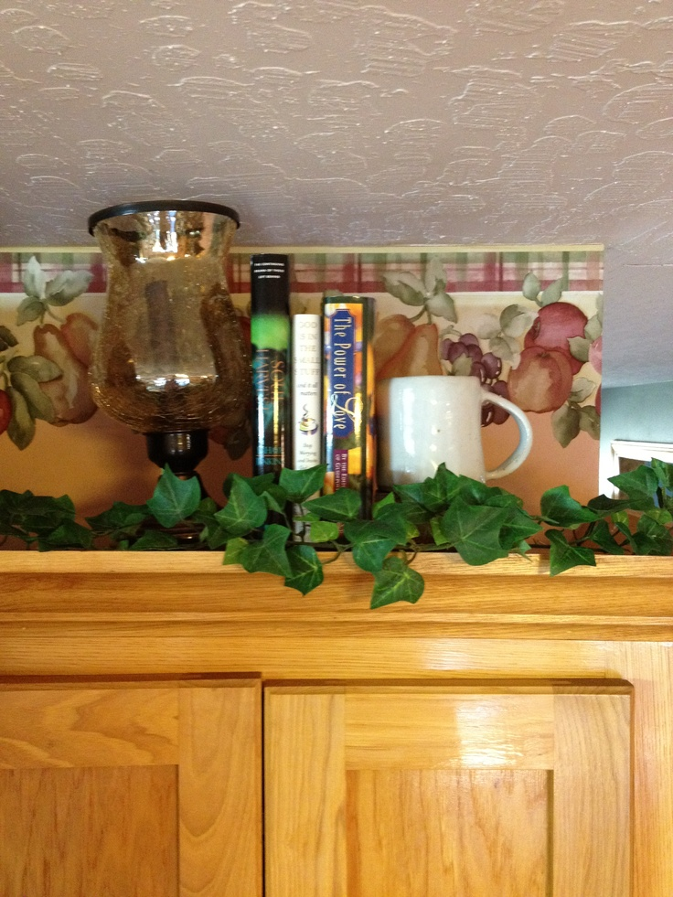 Kitchen Cabinet Decoration Pictures