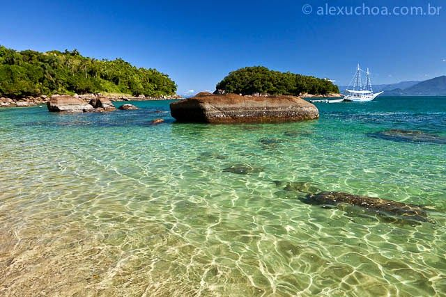 Tá Viajando Menina?: Praia!! Ilha das Couves - Ubatuba