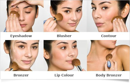 How to give yourself a makeover in under 3 minutes #makeover #beauty #bronzer
