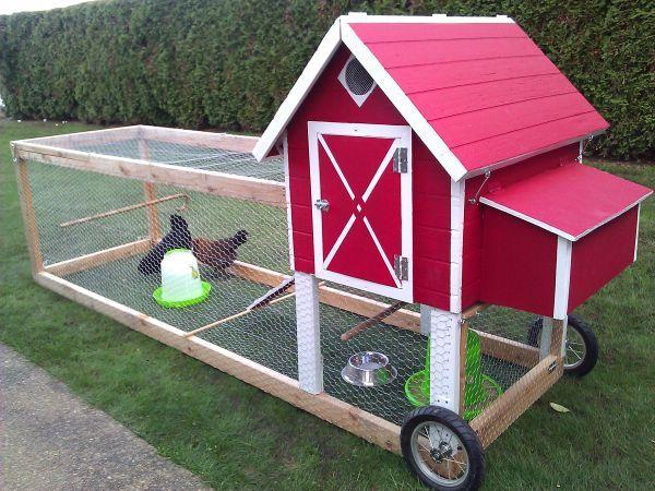 Tractor Wheels Chicken Co Op : The best chicken tractors ideas on pinterest mobile