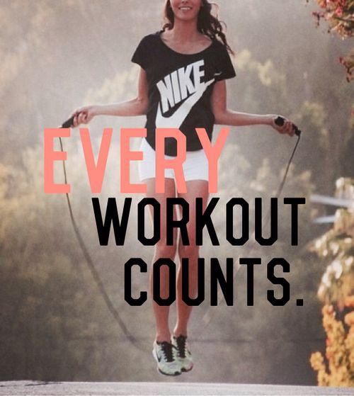 """Because even when you feel like you had a """"bad"""" workout, you still made yourself get up and do something. #fitgirlcode #workout #fitspo"""