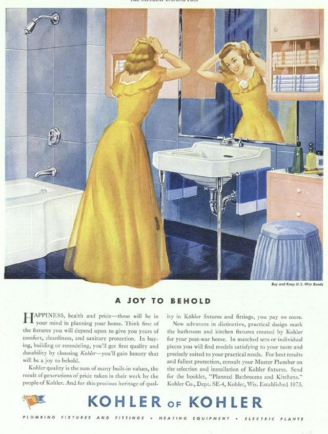 Vintage Kohler Ad Vintage Pinterest Bathroom Vintage