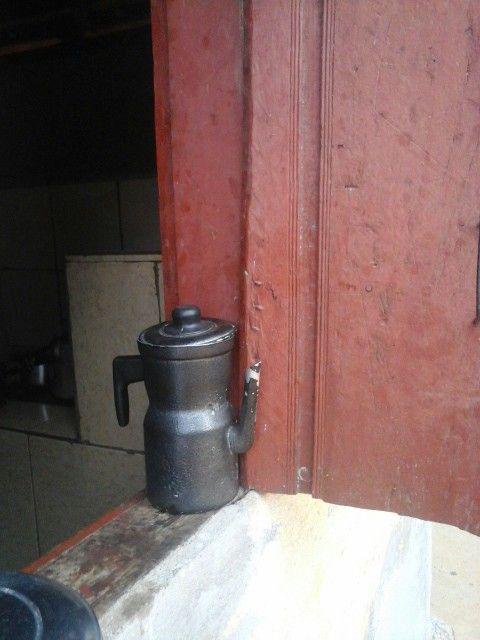 Bule de café antigo