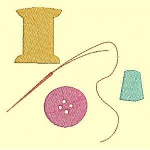 Affaires de couture en ombre - Ombres chinoises