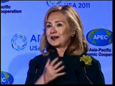 Secretary Clinton Delivers Keynote Remarks at the Women and the Economy Summit - YouTube