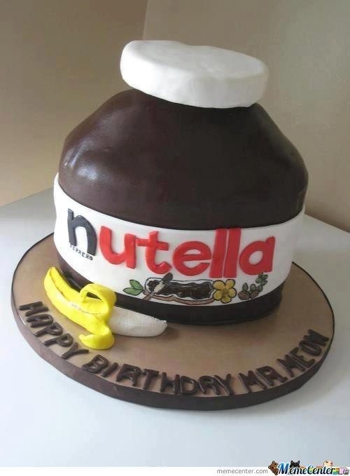 Nutella Cake!
