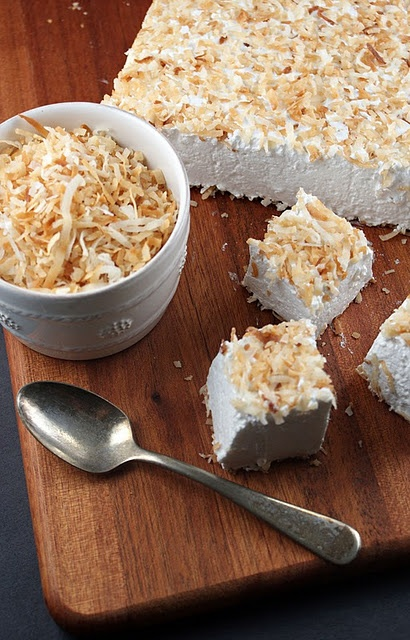 Homemade Coconut Marshmallows