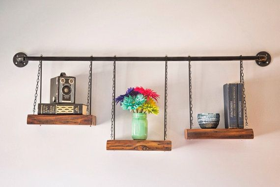 Industrial-Reclaimed Pine Shelving Unit by YeOldHickmanHouse