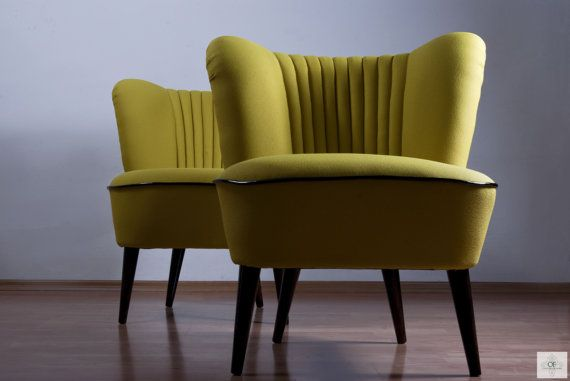 Vintage Lounge Chair by OFCURTAINS on Etsy, €290.00