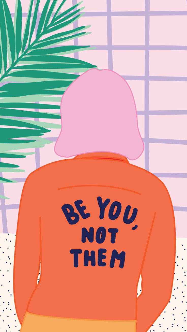 Be you, not them (because you're brilliant as you are)