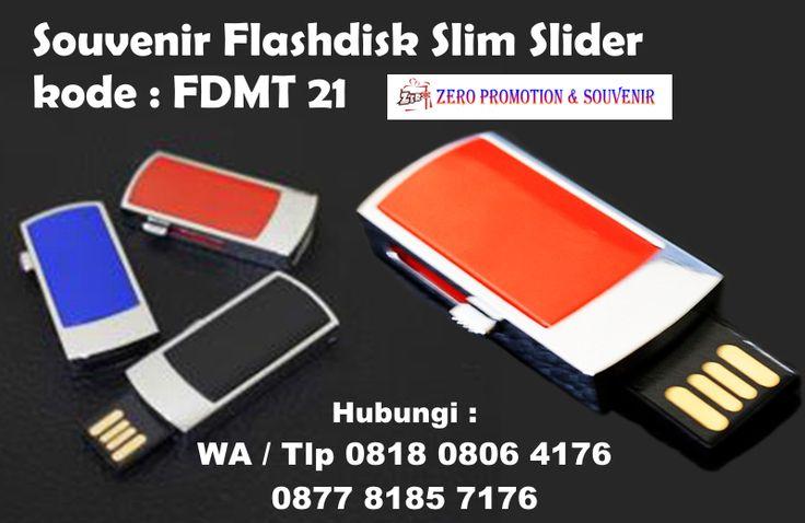 Jual Souvenir Flashdisk Slim Slider kode : FDMT 21