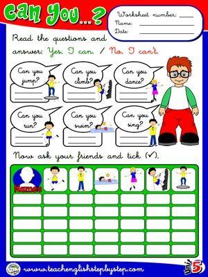 Abilities - Worksheet 5