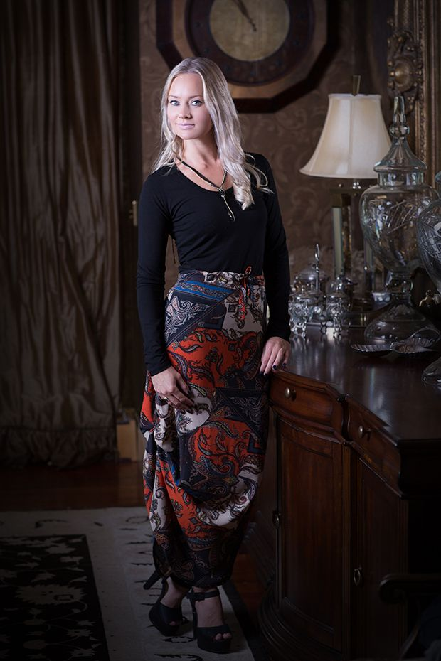 Nina Skirt - Rust Boho