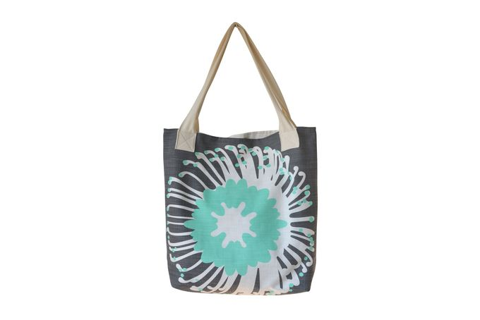 """Giant Pin"" tote by i Spy for sale on hellopretty.co.za - $45.00"