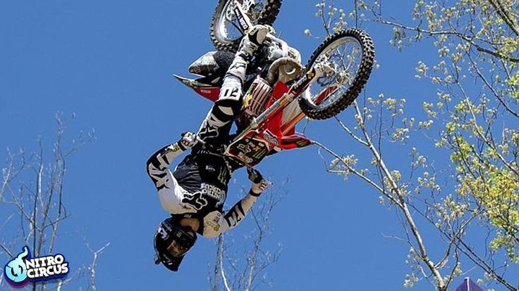 Biggest Trick In Action Sports History - Triple Backflip - Nitro Circus ...