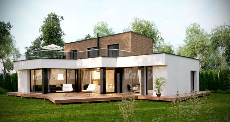 Pingl par anoukis studio sur architecture d 39 ext rieur for Exterieur maison 3d