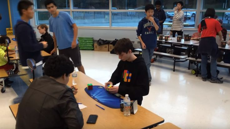 A teenager just pushed the Rubik's Cube world record under 5 seconds