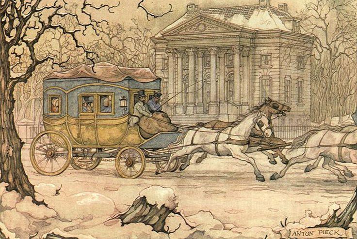 Старинные рисованные картинки