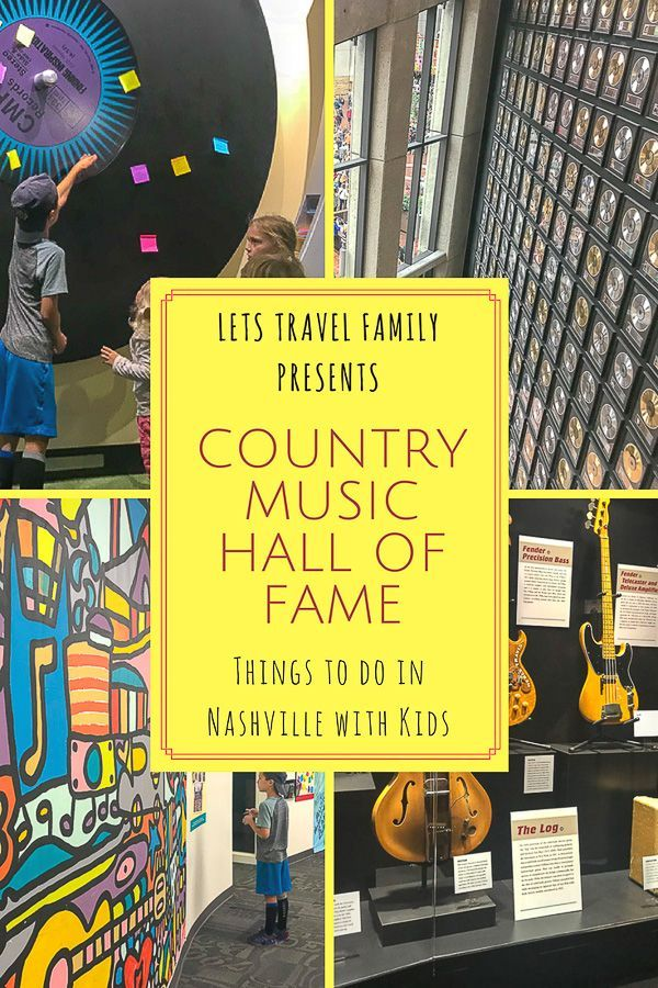 The Country Music Hall Of Fame Museum With Kids | Awesome
