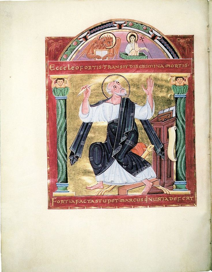 Bamberger Evangeliar fol. 86v. - Arte ottoniana - Wikipedia