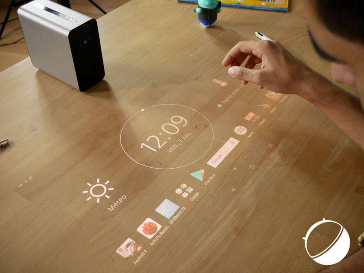 Test du Sony Xperia Touch : que vaut le gadget qui transforme une surface en tablette tactile ? - http://www.frandroid.com/test/447503_test-du-sony-xperia-touch-que-vaut-le-gadget-qui-transforme-une-surface-en-tablette-tactile  #Marques, #Produits, #Sony, #Tablettes, #Tests